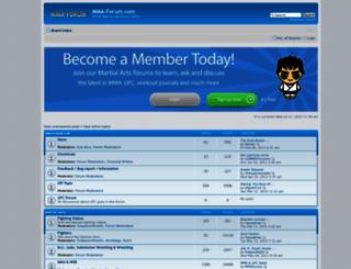 mma-forum.com screenshot