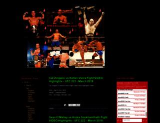 mmabloodbath.com screenshot