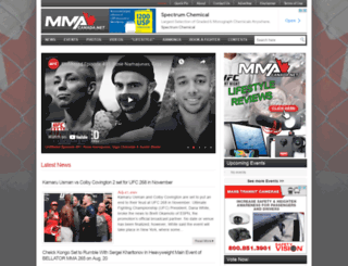 mmacanada.net screenshot