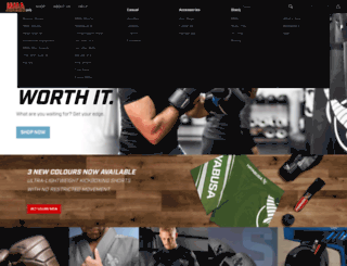 mmafightwear.net screenshot