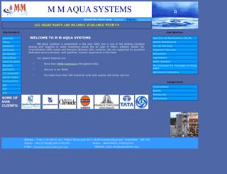 mmaquasystems.com screenshot