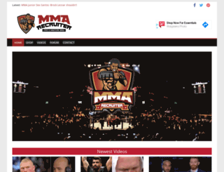 mmarecruiter.com screenshot