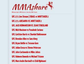 mmashare.com screenshot