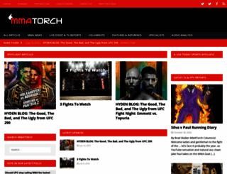 mmatorch.com screenshot