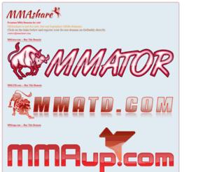 mmavista.com screenshot