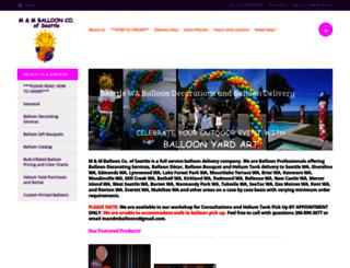 mmballoons.com screenshot