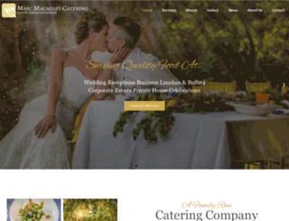 mmcatering.com screenshot