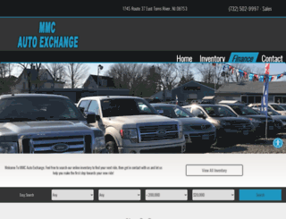 mmcautoexchange.com screenshot