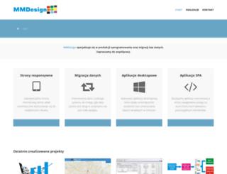 mmdesign.net.pl screenshot