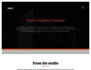 mmediadesign.co.uk screenshot