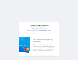 mmediadesign.createsend.com screenshot