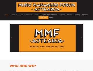 mmf.co.nz screenshot
