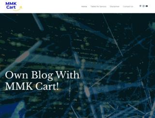 mmkcart.com screenshot