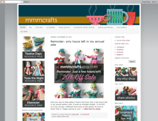 mmmcrafts.blogspot.com screenshot