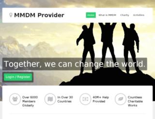 mmmprovider.com screenshot