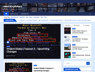mmoexploiters.com screenshot