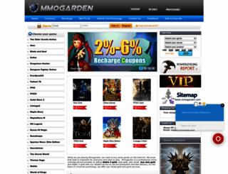 mmogarden.com screenshot