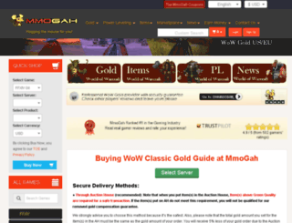 mmogoldsales.com screenshot