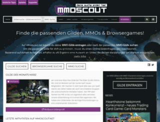 mmoscout.net screenshot