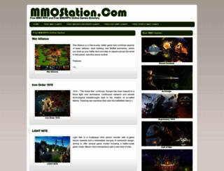 mmostation.com screenshot