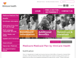 mmp.illinicare.com screenshot