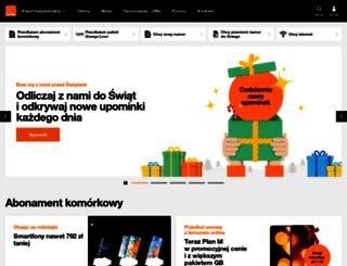 mms.orange.pl screenshot