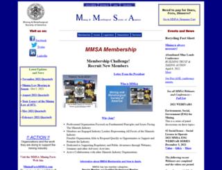 mmsa.net screenshot