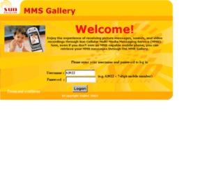mmsgallery.suncellular.com.ph screenshot