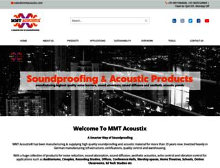 mmtacoustix.in screenshot
