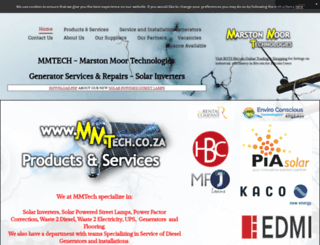 mmtech.co.za screenshot