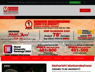 mmumullana.org screenshot