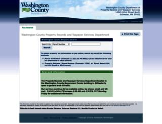 mn-washington.manatron.com screenshot