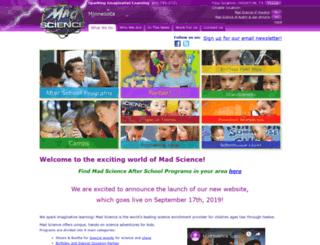 mn.madscience.org screenshot