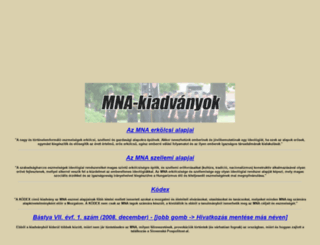 mnakiadvanyok.freeoda.com screenshot