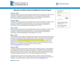 mncommerce.powerclerk.com screenshot