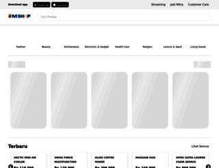mncshop.co.id screenshot