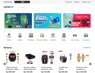 mncshop.com screenshot