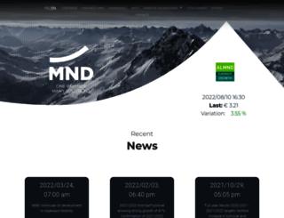 mnd-bourse.com screenshot