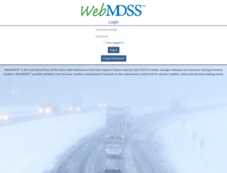 mndot.meridian-enviro.com screenshot