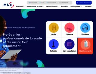mnh.fr screenshot