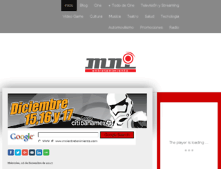 mni.jimdo.com screenshot