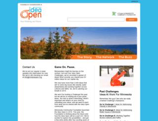 mnideaopen.org screenshot