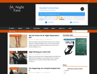 mnightfans.com screenshot