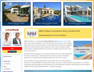 mnmcostablanca.com screenshot