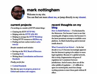 mnot.net screenshot