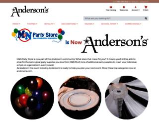 mnpartystore.com screenshot