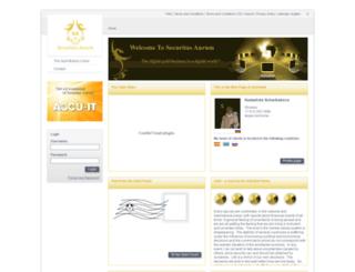 mnrhome.securitas-aurum.com screenshot