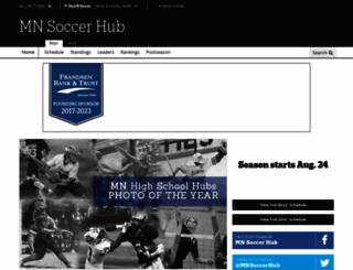 mnsoccerhub.com screenshot
