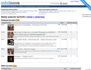 mnstat.com screenshot