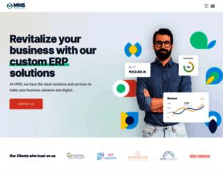 mnstechnologies.com screenshot